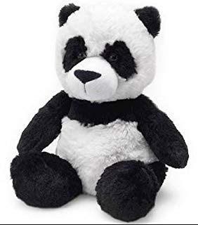 (Warmies PANDA Cozy Plush Heatable Lavender Scented Stuffed Animal)