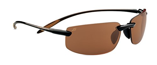 Serengeti Sport Lipari Sunglasses, Polar PhD Drivers, Shiny Brown (Sunglasses Racewear)