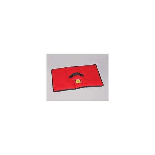 Dry Ice Storage Chest - Polar Tech 1562 RED Insulated Dry Ice Cover for TC05 Transport/Storage Chest, 24