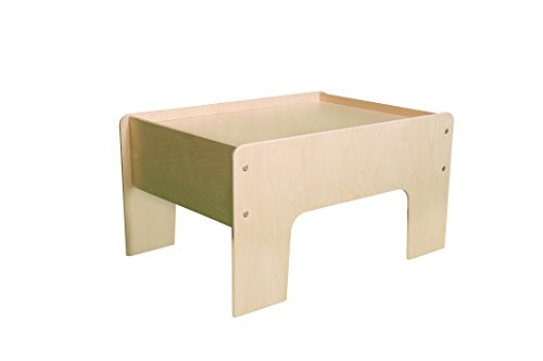 - Little Colorado Toddler Half Play Table, Unfinished