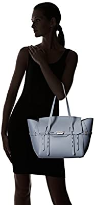 ZAC Zac Posen Eartha Belted Satchel-Grey