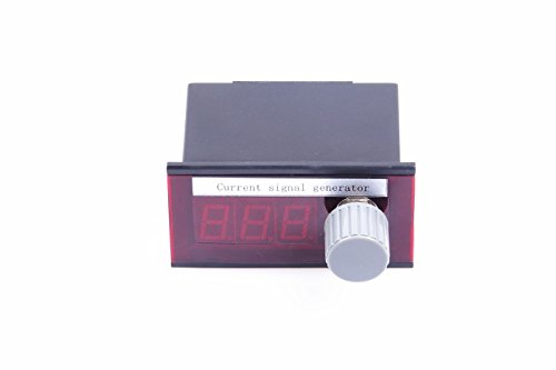 4-100mA Signal Generator, DC 7-35V Constant Current Source, Stable Signal Source with 0.01mA Adjustable Potentiometer, Voltage, Current LED Display