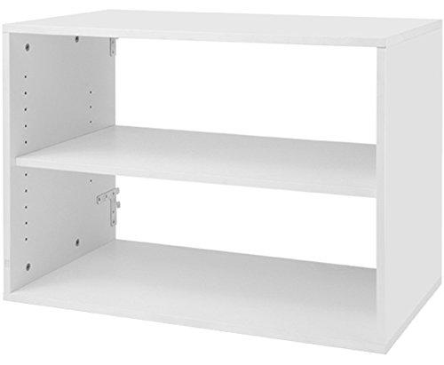 Organized Living freedomRail 1 Shelf Big OBox - White