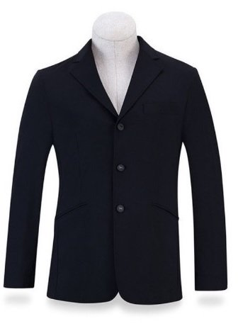 RJ Classics Men's Navy Soft Shell Tri Show Coat 36 Long