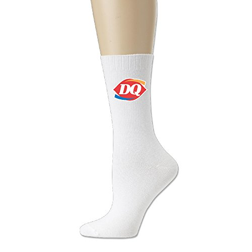 Adult Unisex Dairy Queen Logo Athletic Sock Casual Socks (3 Colors)