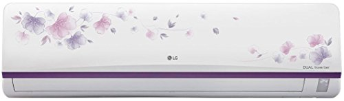 LG 1.5 Ton 3 Star Inverter Split AC (Copper, JS-Q18FUXD1, White Floral)