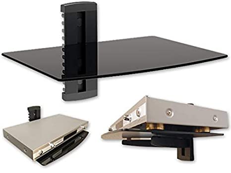Mensole Da Parete Per Lettore Dvd : Scaffale da parete mensola da muro per dvd bluray player