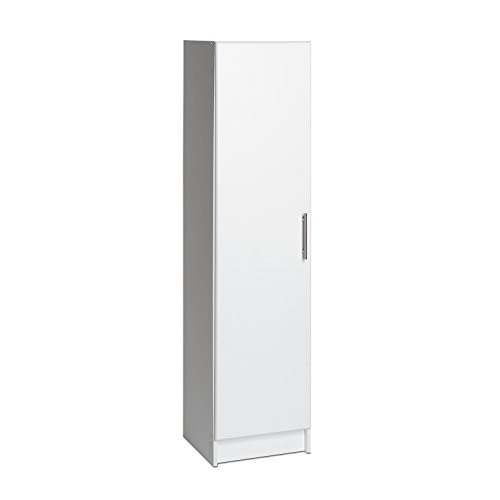 Prepac Elite 16  Narrow Cabinet in White  sc 1 st  Amazon.com & Utility Closet Storage: Amazon.com