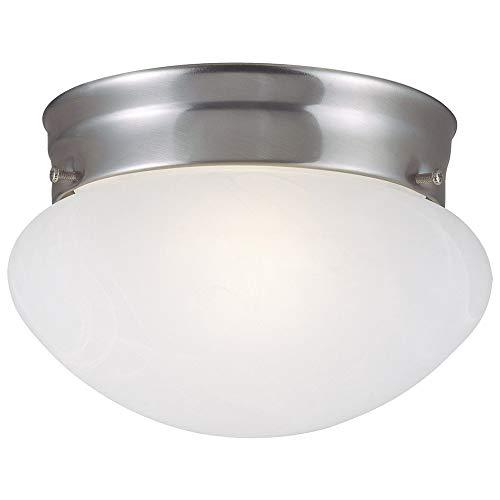 Design House 511568 Millbridge 2 Light Ceiling Light, Satin Nickel (Satin Ceiling Light Light)