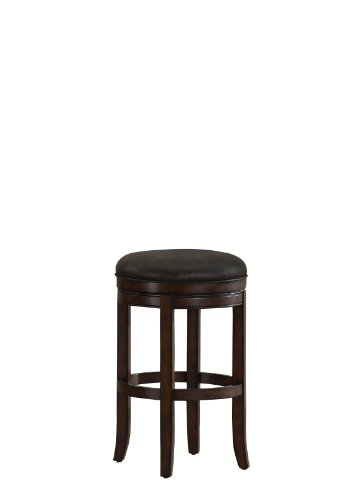 American Heritage Billiards Winston Bar Height Stool, Brown