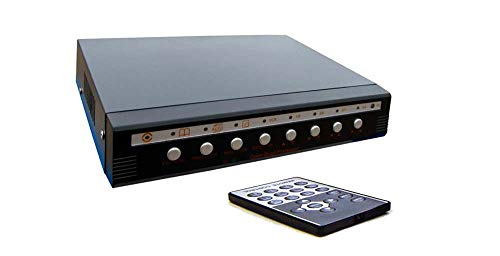 4-Channel Picture-In-Picture BNC Video to VGA Processor Converter