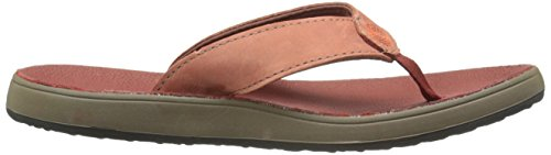 orange Flip Leather Hudson Burnt Bogs Women's Flop nqBRzzPx
