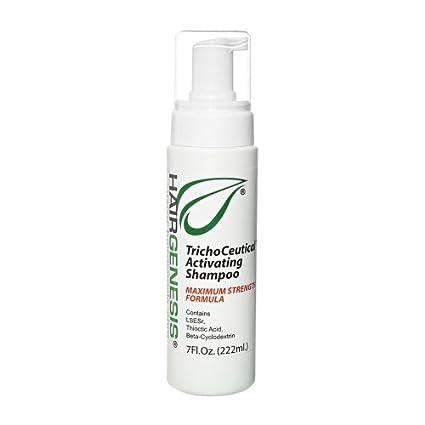 Champú HairGenesis Trichoceutical® - Tratamiento Natural Para La Caída Del Cabello En Hombres Y Mujeres