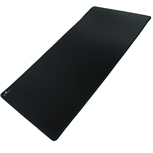 Reflex Lab Extra Large Extended Gaming Mouse Pad Mat XXXL, Stitched Edges, Waterproof, Ultra Thick 5mm, Wide & Long Mousepad 36