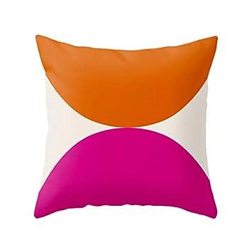 Amazon Com Athena Bacon Two Circles Nordic Pillowcase Cover Nordic