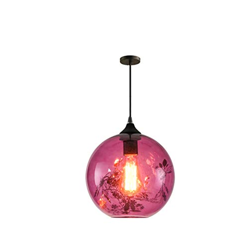 TopDeng Glass Pendant Light Retro, Vintage Kitchen for sale  Delivered anywhere in Canada