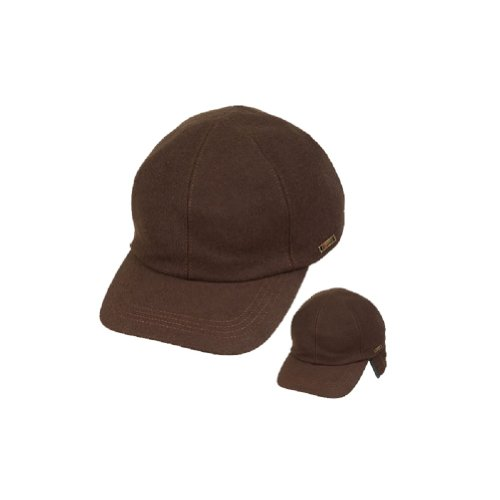 bacdbe58b64 Wigens Mens Kent (Edgar) Wool Baseball Cap with Earflaps - Buy Online in  UAE.