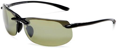 Maui Jim Banyans,Gloss Black Frame/High Transmission Lens,one - Store Hut Sunglass