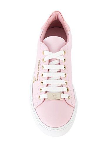 WSC0638PLE025N03 Cuero Plein Zapatillas Philipp Mujer Rosa PqEwwFH