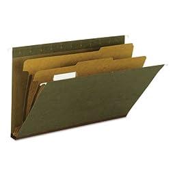 Hanging File Folder, 2 Dividers, Legal, 2\
