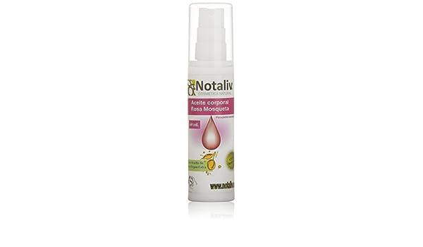 Amazon.com: Notaliv Cosmética Natural Aceite Corporal Rosa Mosqueta Oil, 50 ml: Beauty