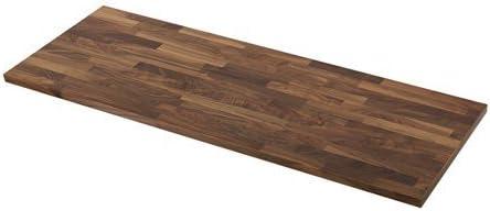 Ikea Karlby Plan De Travail En Bois De Noyer Massif 186 X 3 8 X
