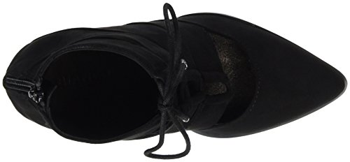 Boot Bianco Laced Up Tacones Son16 Negro Mujer ZZwxv1qEf