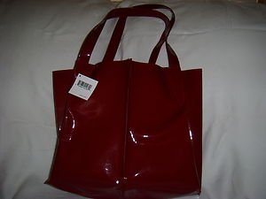 Nordstrom Tote Bag In Deep Red   Gwp