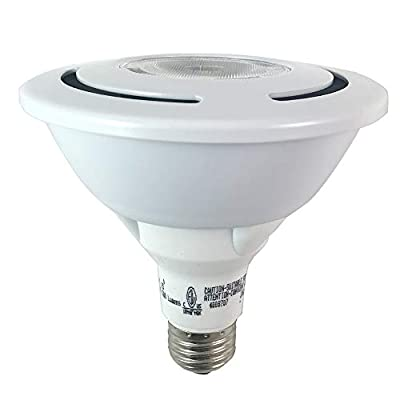 (Case of 6) Sylvania 78478 - LED17PAR38/PRO/835/NFL25/P3 17-Watt PAR38 3500K LED Dimmable 25? Flood Light Bulb