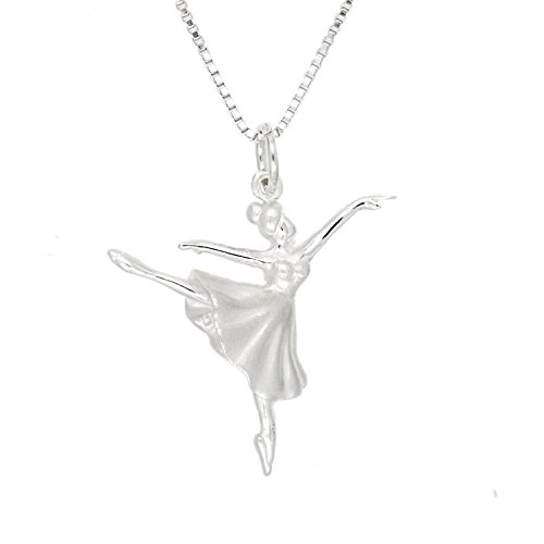 Sterling Silver 3d Rhodium Plated - 3
