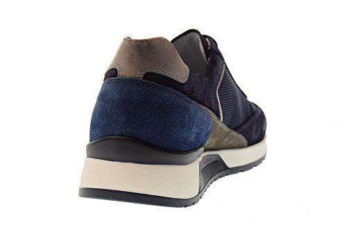 de P800211U Zapatillas Deporte Hombre Azul Giardini 200 Nero Bajas 6AnIFSq