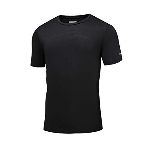 YKARITIANNA Men's Summer Casual O-Neck T-Shirt Fitness Sport Fast-Dry Breathable Top Blouse 2019 Summer Hot Sale