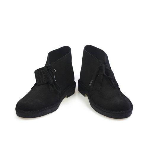 Clarks Desert Boot Noir suède Bottines, EU 38