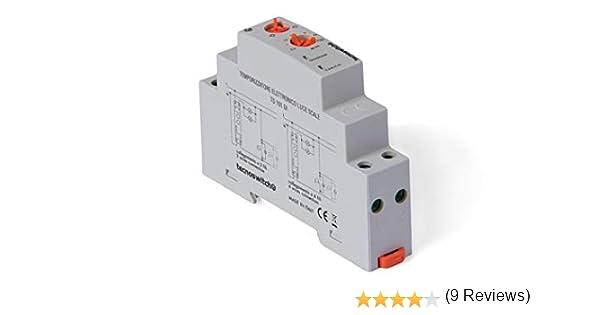 Temporizador de luz eléctrica 16 A (Tecno Switch cód. TS101DI): Amazon.es: Bricolaje y herramientas