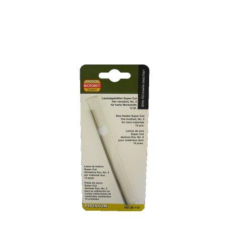 Proxxon 28113 Super-Cut Scroll Saw Blades, Standard -  C2G