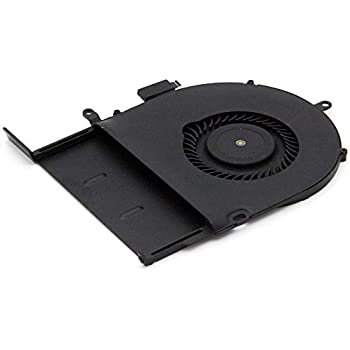MMOBIEL Laptop CPU Cooling Fan Replacement Compatible with MacBook Pro A1502 Late 2013-2015 Part Nr:076-1450, 076-00071