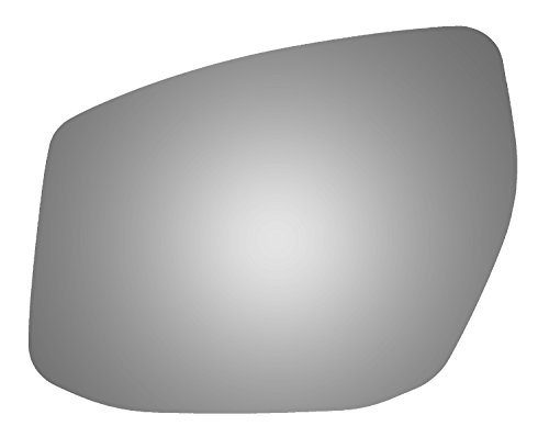 (Burco 4485 Flat Driver Side Power Replacement Mirror Glass (Mount Not Included) for 2013-2017 Nissan Altima, 2013-2017 Nissan Sentra, 2016 Nissan Maxima )