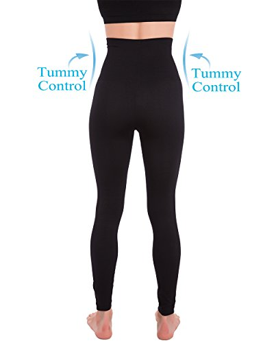 Homma Premium Thick High Waist Tummy Compression Slimming Leggings 3