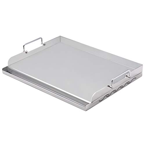 stainless steel cookware griddle - 5
