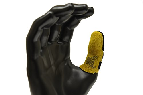 - G & F 8126L Cowhide Leather Thumb Guard, Thumb Protection, Large, Finger Guard Sold Separately