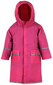 Fabugears Boys/Girls Kids/Juniors Raincoat, Reflector, Waterproof, Full Length Hooded