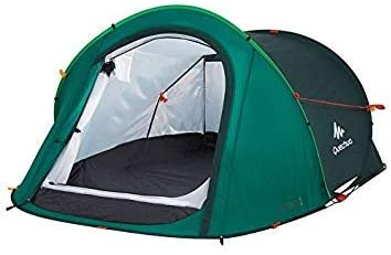 DECATHLON 2 Seconds Pop Up Easy-to-carry Tent 2 Person,Green by Quechua: Amazon.es: Deportes y aire libre