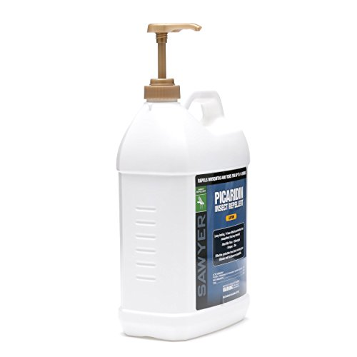 31Sg7QY11IL - Sawyer Products SP569 Premium Insect Repellent with 20% Picaridin, Lotion Dispenser, 1-Gallon