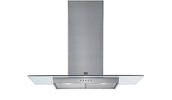 Zanussi ZHC 950 X - Campana (390 m³/h, Recirculación, 49 dB, De pared, Acero inoxidable, 2 bombilla(s)): Amazon.es: Hogar