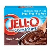 Sugar Free Pudding Pie (Jell-O Cook & Serve Pudding & Pie Filling, Sugar-Free, Fat Free, Chocolate, 1.3-Ounce Boxes (Pack of 24))