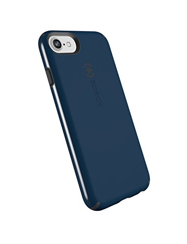 Speck Products CandyShell Cell Phone Case for iPhone 8 (Also fits 7/6S/6) - Deep Sea Blue/Slate Grey (Glass Sea Bezel)