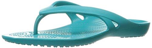 Kadee W Flip Pantuflas Azul Mujer Tur para II Turquoise Crocs dxawFF