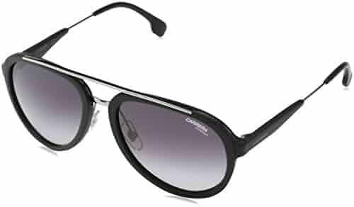 3497db48c8 Carrera Metal Aviator Sunglasses 57 0TI7 Matte Black Ruthenium 9O dark gray  gradient lens