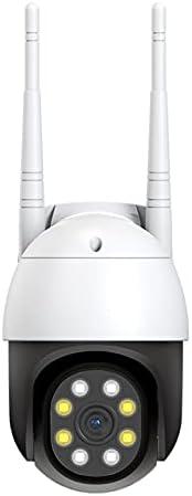 Houshome Câmera de segurança externa, 720P Pan Tilt Wireless WiFi Câmeras externas para sistema de segurança d