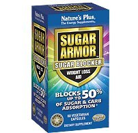 Nature's Plus Sugar Armor (Sugar Blocker) 60 Vegetarian Capsules by Nature's Plus